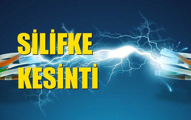 Silifke Elektrik Kesintisi 07 Kasım Perşembe