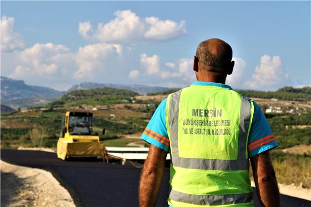 Büyükşehir'den Camili'de Alternatif Yola Asfalt Çalışması
