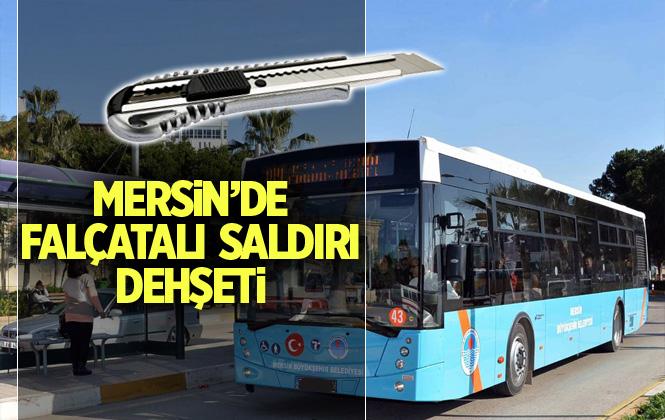 Mersin'de Belediye Personel Falçatalı Saldırıya Uğradı