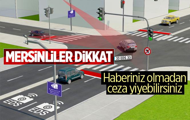 Mersin'de Trafikte EDS Dönemi Başlıyor