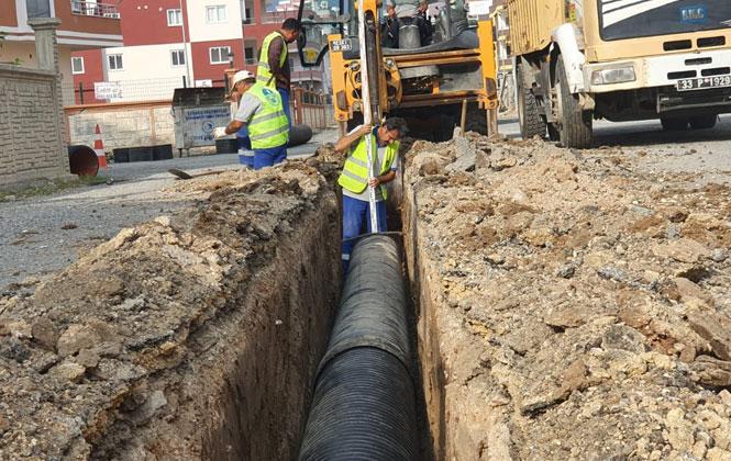 MESKİ, Kavaklı Mahallesi'nde Her Yağış Sonrası Yaşanan Su Birikmesi Sorununu Çözdü