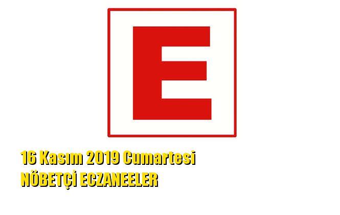 Mersin Nöbetçi Eczaneler 16 Kasım 2019 Cumartesi