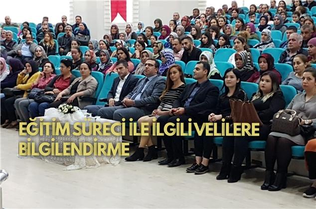 Eğitim ve Öğretimi Destekleme Kurs Merkezleri'nin Tarsus Ve Silifke Şubelerinin Veli Toplantısı Yapıldı