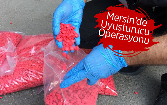 Mersin'de Uyuşturucu Satıcıları Yakalandı