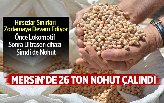 Mersin'de 26 Ton Nohudu Çalan Nakliyeci Yakalandı
