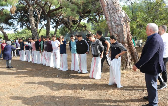 Erdemli Belediyesi öğrencileri piknikte buluşturdu