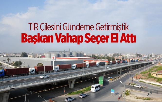 Mersin Büyükşehir Belediye Başkanı Vahap Seçer, Mersin Limanı'nda İncelemelerde Bulundu