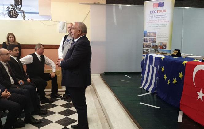 Erdemli Belediyesi ve Mersin Üniversitesi Proje Ekibi Parga' Da