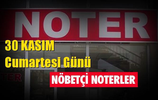 Nöbetçi Noter! 30 Kasım Cumartesi Günü Nöbetçi Noterler Mersin ve Tarsus İlçesindeki Nöbetçiler