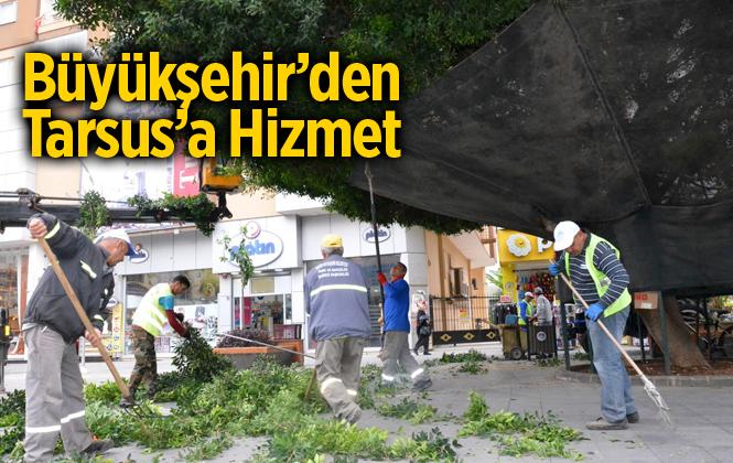 Büyükşehir'den, Tarsus'a Kapsamlı Hizmet