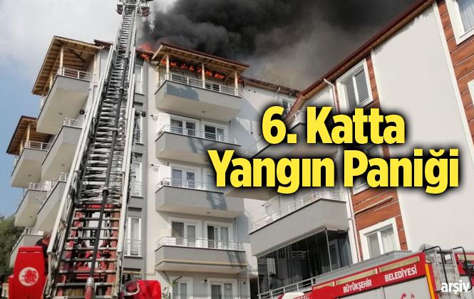 Mersin Tarsus'ta Yangın Paniği