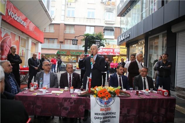 """Akdeniz Belediye Başkanı Mustafa Gültak; """"çarşıyı Eski Hareketli Günlerine Kavuşturacağız"""""""