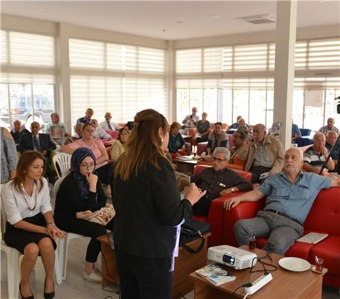 Büyükşehir, İkinci Bahar Emekli Evi'nde Ev Kazalarına Dikkat Çekti