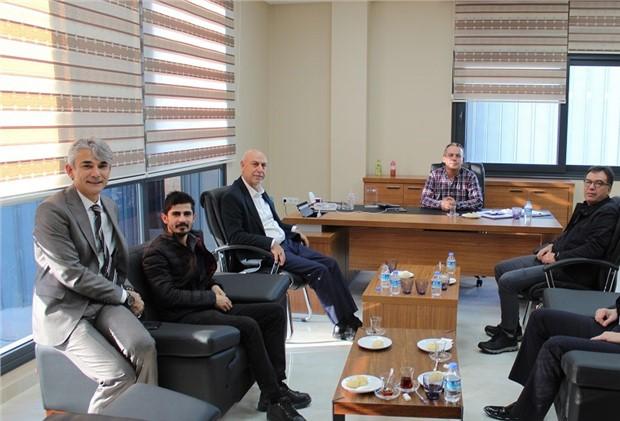 Tarsus Borsa Başkanı Murat Kaya Üye Ziyaretinde