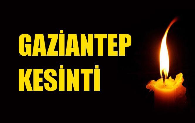 Gaziantep Elektrik Kesintisi 09 Aralık Pazartesi
