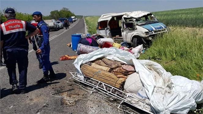 Adana'da Tarım İşçilerini Taşıyan Minibüs Devrildi: 11 Yaralı