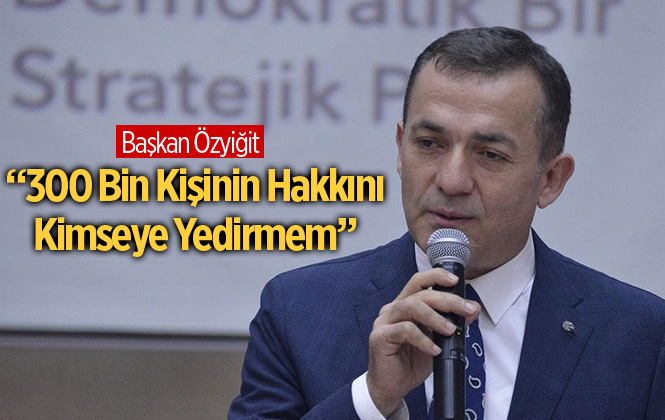 """Yenişehir Belediye Başkanı Abdullah Özyiğit: """"Yenişehir'de Gelirler Artıyor"""