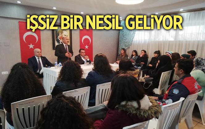 Tarsus TSO Başkanı Koçak, Mesleki Bilgilerini Anlattı