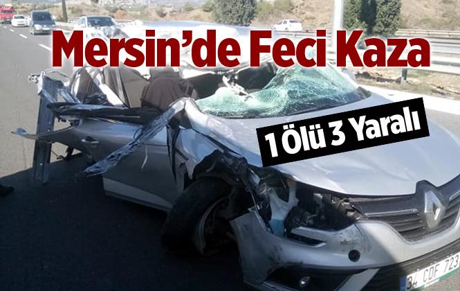 Mersin Tarsus'ta Feci Kazada Nevin Koçer Hayatını Kaybetti