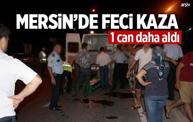 Mersin Tarsus'ta Trafik Kazasında Mustafa Demirtaş Hayatını Kaybetti