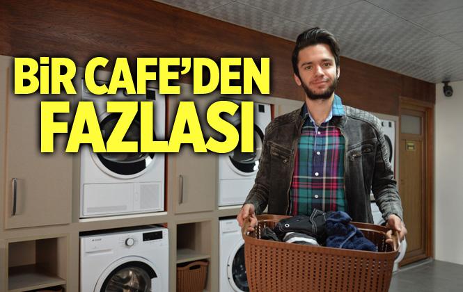 """Mersin'de Üniversitelilere """"Çamaşır Kafe"""" Hizmeti"""