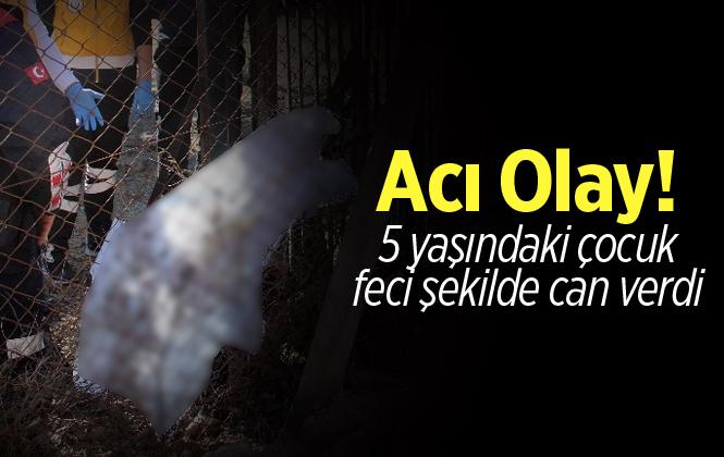 Adana'da 5 Yaşındaki Çocuk Kapı İle Korkuluk Arasında Can Verdi