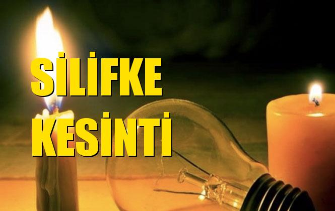 Silifke Elektrik Kesintisi 19 Aralık Perşembe