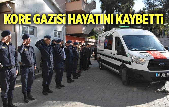 Kore Gazisi Yusuf Aydın Mersin Tarsus'ta hayatını kaybetti