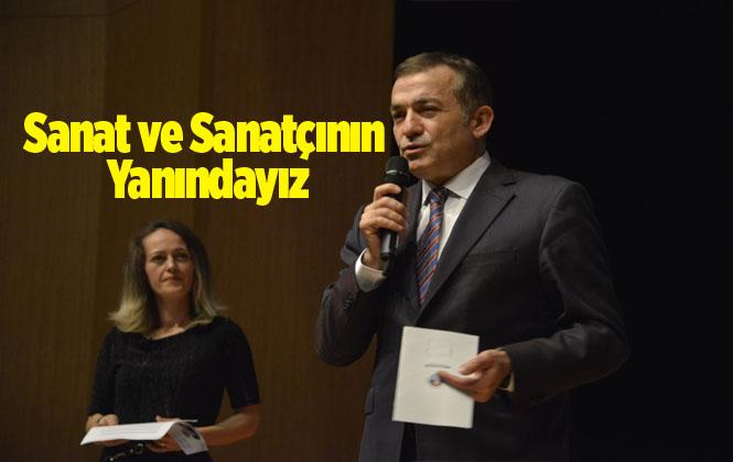 """Özyiğit """"Yenişehir'de Sanatın ve Sanatçının Yanındayız"""""""