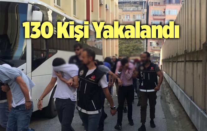 Mersin Tarsus'ta Bir Haftada Aranan 130 Şahsın Yakalandı