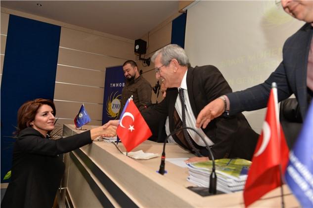 Büyükşehir Başkan Vekili Gülcan Kış, Ziraat Mühendisleri Odası Genel Kurulu'na Katıldı