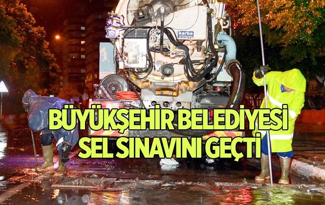Mersin Büyükşehir, Geceyi Sorunsuz Geçirdi