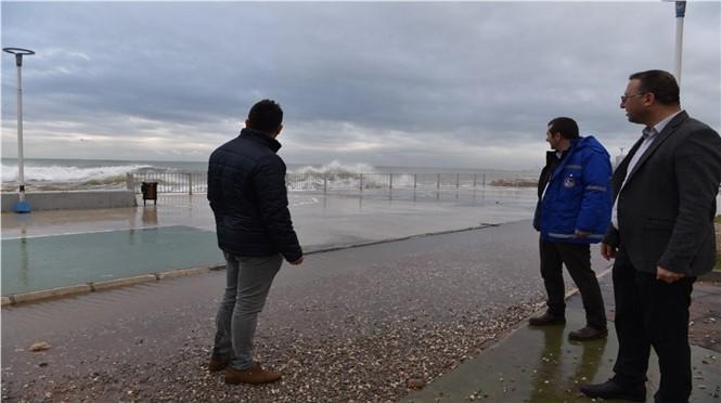 MESKİ Genel Müdürü Alaeddinalkaç, Kuvvetli Yağış Sonrası İncelemelerde Bulundu