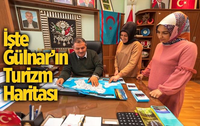 Gülnar Turizm Haritası Hazırlandı