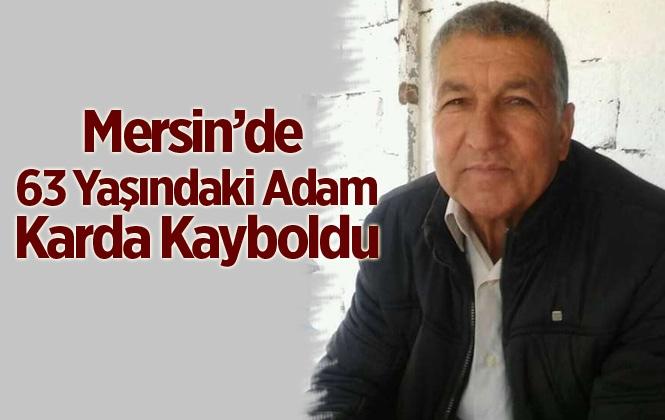 Mersin'de Ali Kaçar İsimli Vatandaş Karda Kayboldu