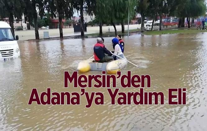 Mersin Büyükşehir Belediyesi'nden Adana'ya Dost Eli