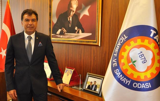 Tarsus Ticaret ve Sanayi Odası Başkanı Ruhi Koçak'tan Kutlama Mesajı