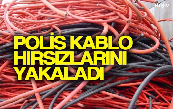 Mersin Yenişehir'de Yaşanan Kablo Hırsızlığı Olayı Polis Tarafından Aydınlatıldı