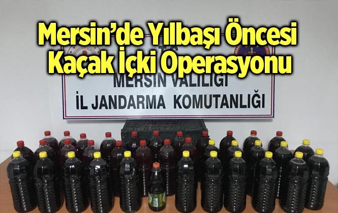 Mersin'de Yılbaşı Öncesi Kaçak Alkol Operasyonu