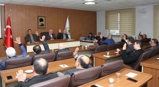 Erdemli Belediye Meclisi 2020'nin İlk Toplantısını Yaptı