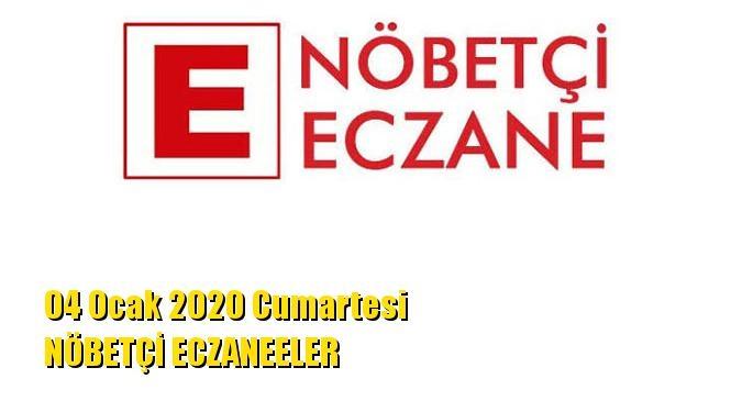 Mersin Nöbetçi Eczaneler 04 Ocak 2020 Cumartesi