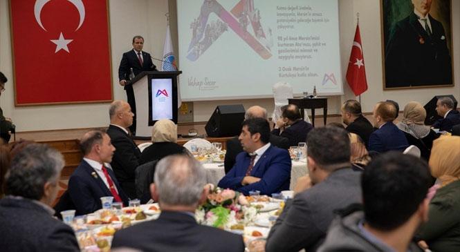 Başkan Seçer, Şehit Yakınları ve Gazilerle Yemekte Buluştu