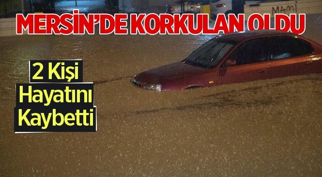 Mersin'de Şiddetli ve Aşırı Yağış 2 Can Aldı