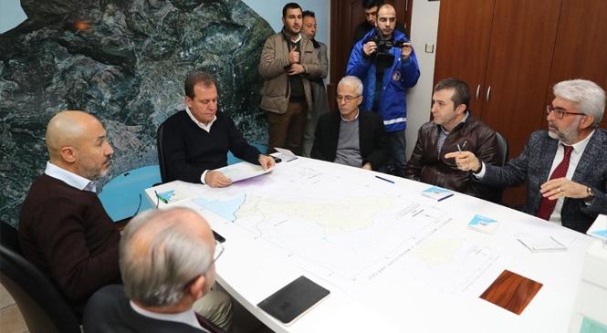 Başkan Seçer, Sel Felaketinde Çalışmaları Koordine Etti