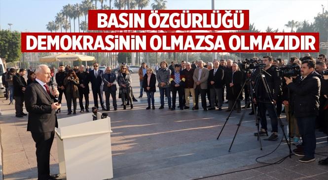 """Başkan Gültak, """"Basın Özgürlüğü, Demokrasinin Olmazsa Olmazıdır"""""""