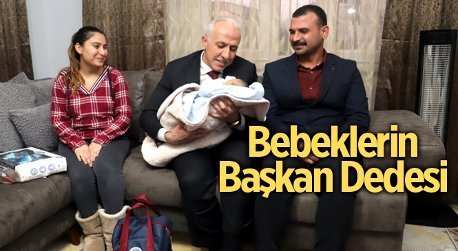 """Akdeniz Belediyesi'nin """"Hoş Geldin Bebek"""" Projesi Yoğun İlgi Altında Devam Ediyor"""