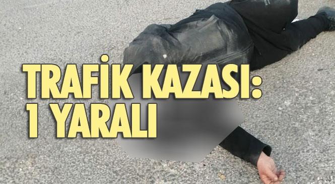 Mersin Tarsus'ta Meydana Gelen Trafik Kazasında 1 Kişi Yaralandı