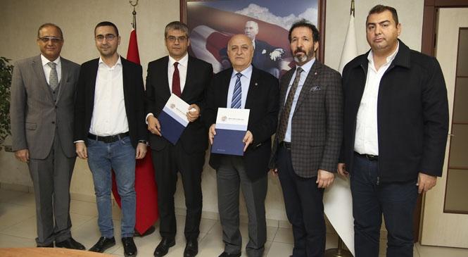 Tarsus Üniversitesi İle MTSO Arasında İşbirliği Protokolü İmzalandı