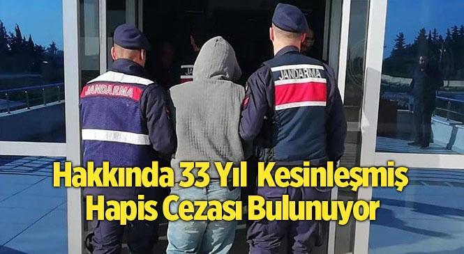 Mersin Silifke'da 15 Ayrı Suçtan Aranan Şahıs Yakalandı