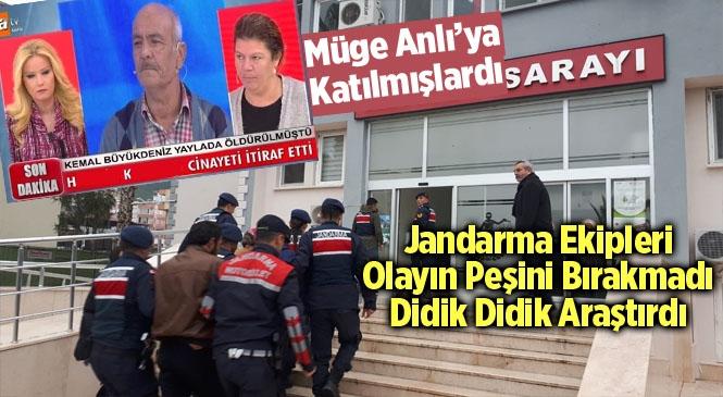 Mersin Anamur'da Öldürülen ve Müge Anlı'ya Konu Olan Kemal Büyükdeniz'in Katili Yakalandı